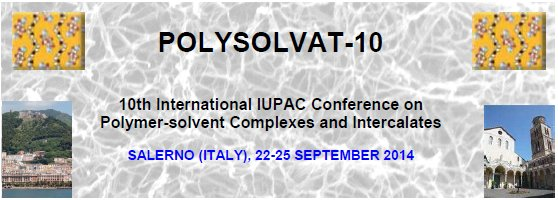 10th International Conference on Polymer-Solvent Complexes and Intercalates